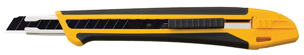 OLFA 1075449 XA-1 9mm Fiberglass Rubber Grip Utility Knife