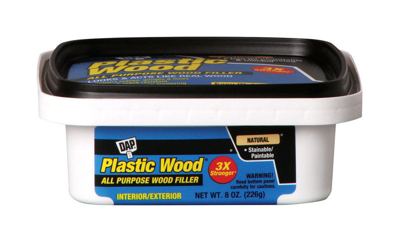 DAP Plastic Wood Natural Wood Filler 8 oz.