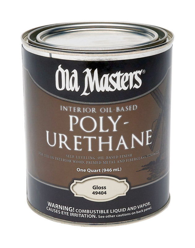 Old Masters Gloss Clear Oil-Based Polyurethane 1 qt.