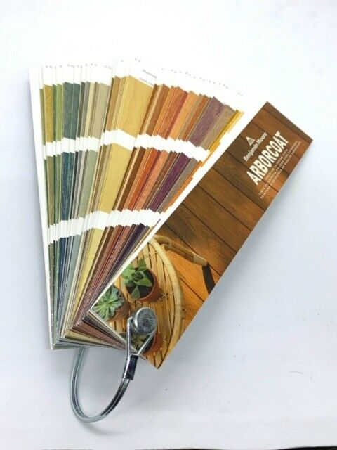 Benjamin Moore ARBORCOAT Color Fan Deck Color Wheel M2451883TL Ext Stain Deck