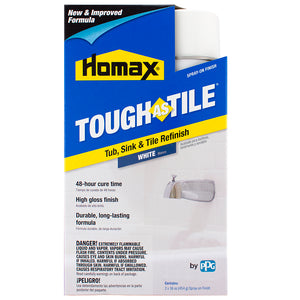 Homax® Tough As Tile® Spray On Tub, Sink & Tile Refinishing Product (Non-Kit) - White
