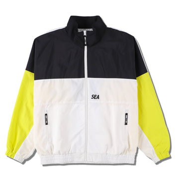 WDS TRUCK JACKE (WDS EXCLUSIVE) / BLACK-YELLOW (19A-JK-03)