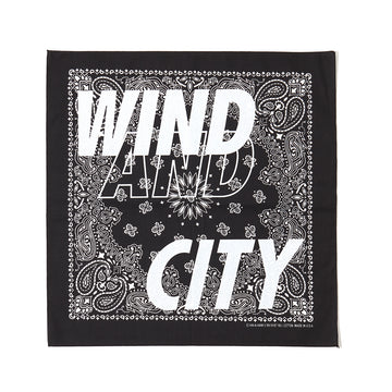 CITY SHOP BANDANA / BLACK (AC-17)