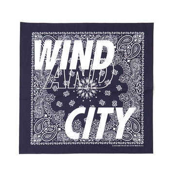 CITY SHOP BANDANA / BLUE (AC-17)