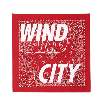 CITY SHOP BANDANA / RED (AC-17)