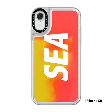 NEO SAND CASE (SEA) iPhoneXR / ORANGE (AC-33-B)