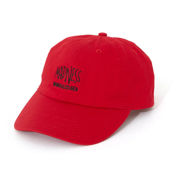 MADNESS CAP (LOGO) / RED (AC-43)