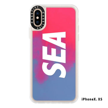 NEO SAND CASE (SEA) iPhoneX XS / RED (AC-53-A)