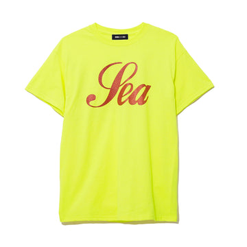 T-SHIRT GLITTER / YELLOW (CS-119)