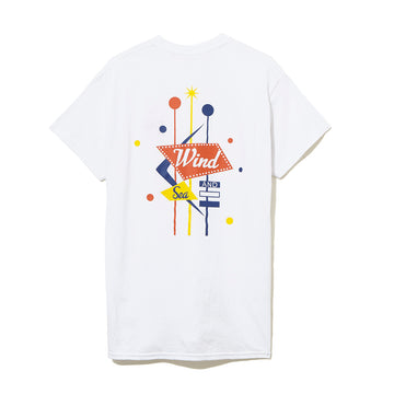 T-SHIRT SIGNBOARD / WHITE (CS-120)
