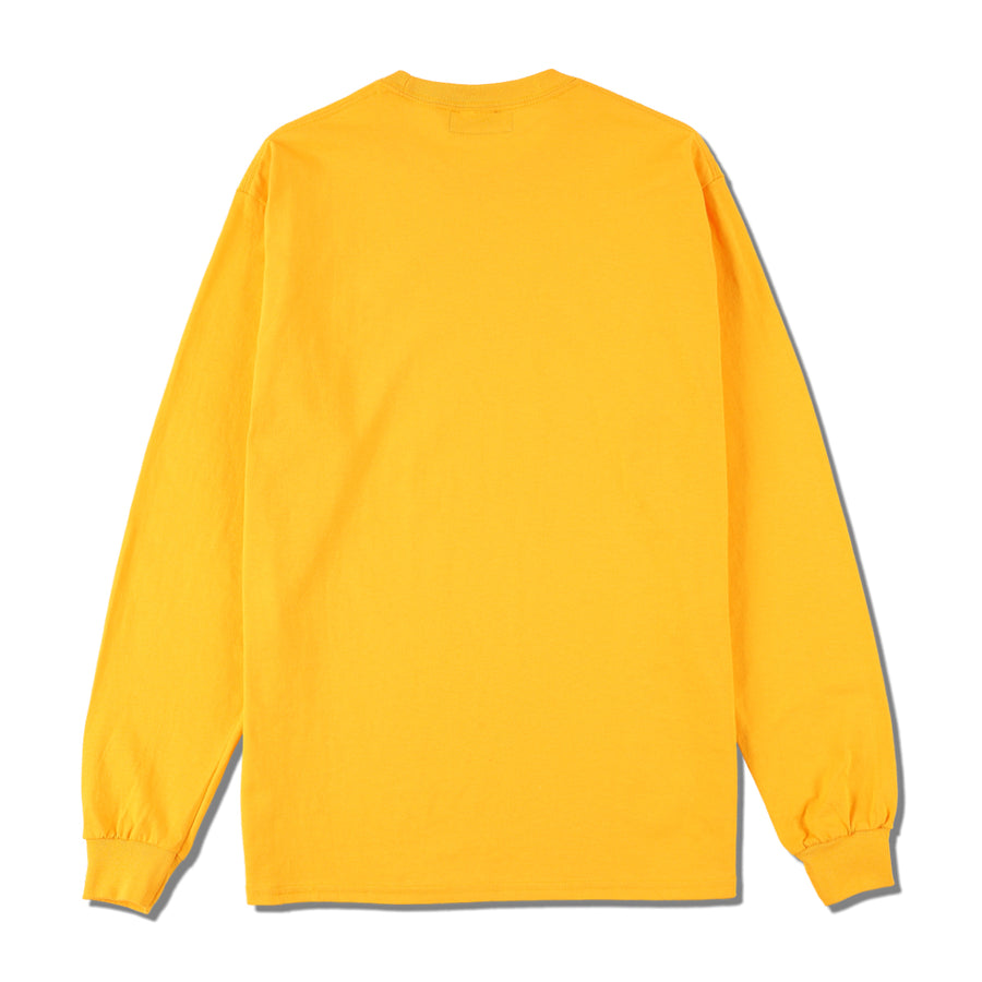 W&S (small-four) L/S T-SHIRT / ORANGE (CS-207)