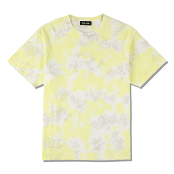 WDS TIE-DYE T-SHIRT / LIME-YELLOW (CS-211)