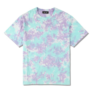 WDS TIE-DYE T-SHIRT / MINT-BLUE (CS-211)