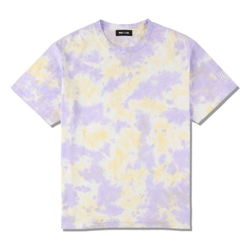 WDS TIE-DYE T-SHIRT / ORCHID-YELLOW (CS-211)