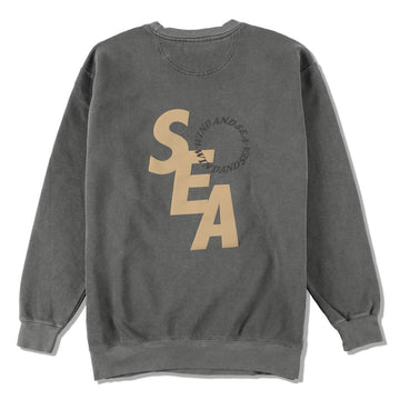 S_E_A SD SWEAT SHIRT / CHARCOAL (CS-239)
