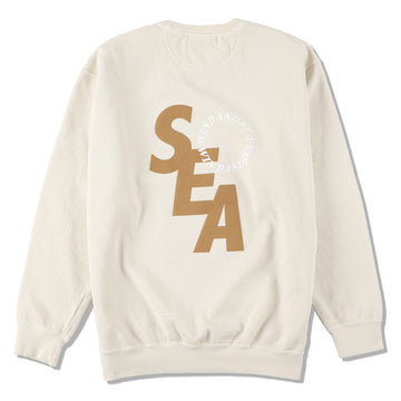 S_E_A SD SWEAT SHIRT / IVORY (CS-239)