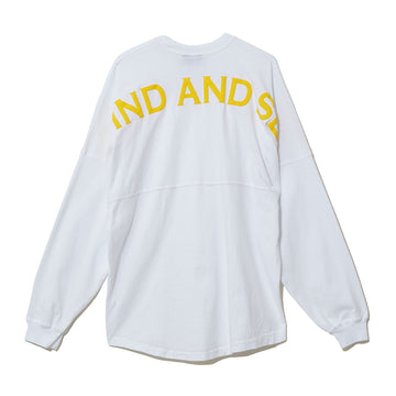 SPIRIT JERSEY / WHITE×YELLOW (CS-42)