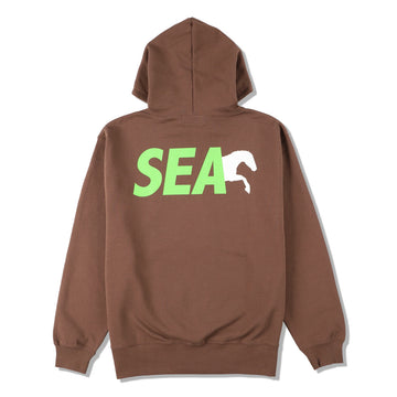 NASU FARM VILLAGE × WDS SAVE THE HORSES HOODIE / BROWN (Donation-03-1)