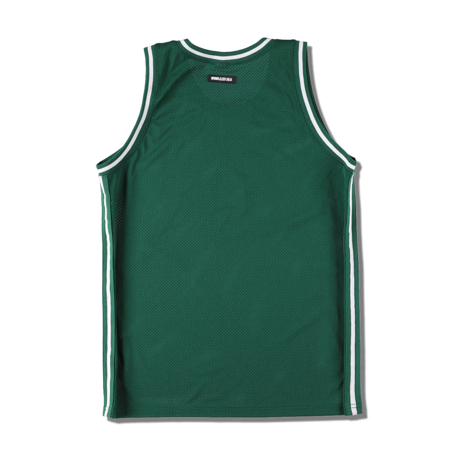 SEA BASKET TANK TOP / GREEN (JER-01)