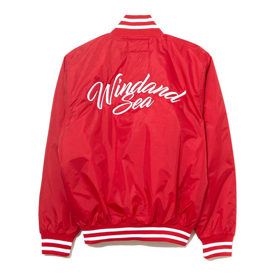 BASEBALL JACKET / RED (JK-05)