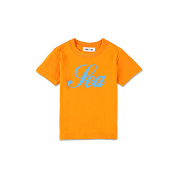 T-SHIRT GLITTER (kids) / ORANGE (KID-02)
