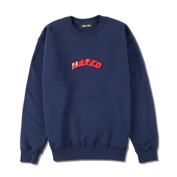 W&S (LOVED-HATED) SWEAT / NAVY (LVD-01)