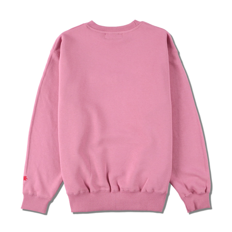 W&S (LOVED-HATED) SWEAT / PINK (LVD-01)