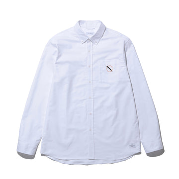 SATURDAYS SURF × WDS  CROSBY OXFORD / WHITE (SAT-2S-03)