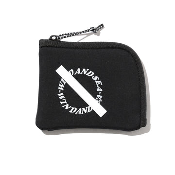 SATURDAYS SURF × WDS NL CASH HALF ZIP WALLET / BLACK (SAT-2S-13)