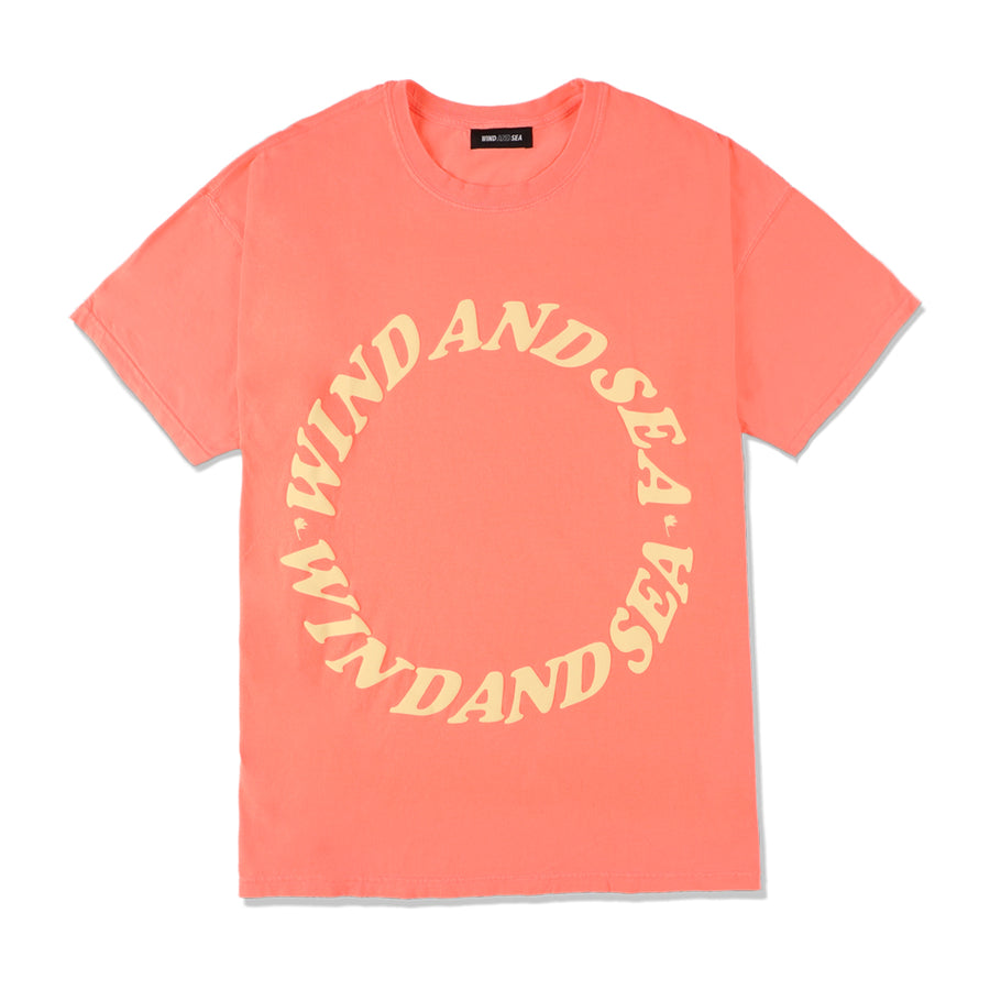 W&S G-DYE (CIRCLE) T-SHIRT / PINK (CS-158)