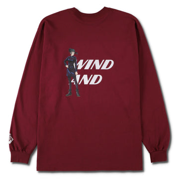 呪術廻戦 x WIND AND SEA (WDS - Maki Zen'in) L/S Tee (JUJUTSU-07)