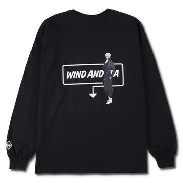 呪術廻戦 x WIND AND SEA (WDS - Toge Inumaki) L/S Tee (JUJUTSU-08)