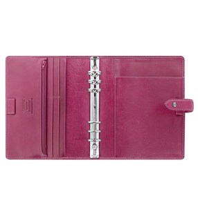 Filofax Malden A5 Fuchsia Leather Organizer Agenda 2020 Diary Inside View