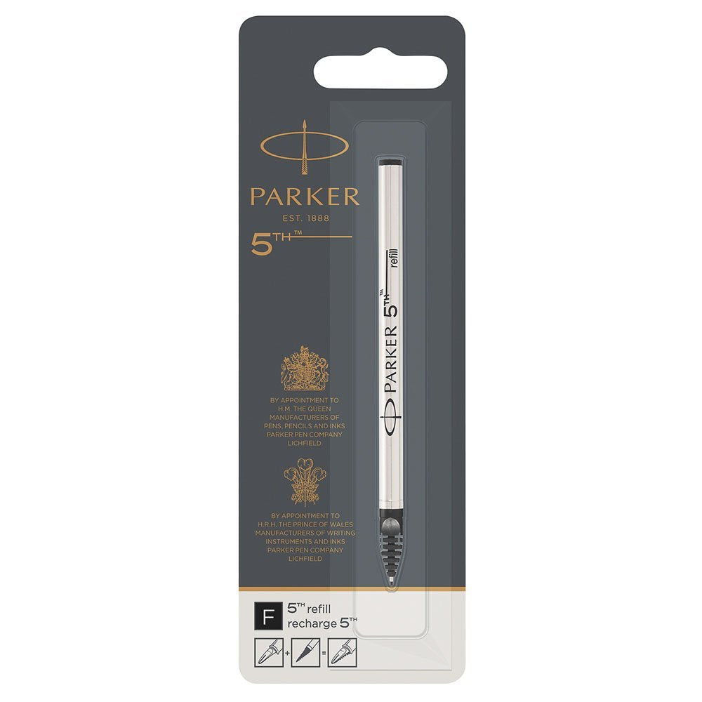 Parker 5th refill for Parker 5th Technology Ink Pens, Fine point, Black ink, 1 unit per pack (S0958790) - PensAndLeather