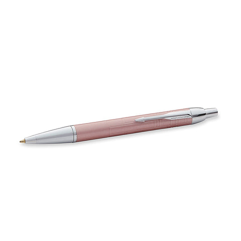 Parker IM Retractable Ballpoint Pen Pink Pearl - PensAndLeather