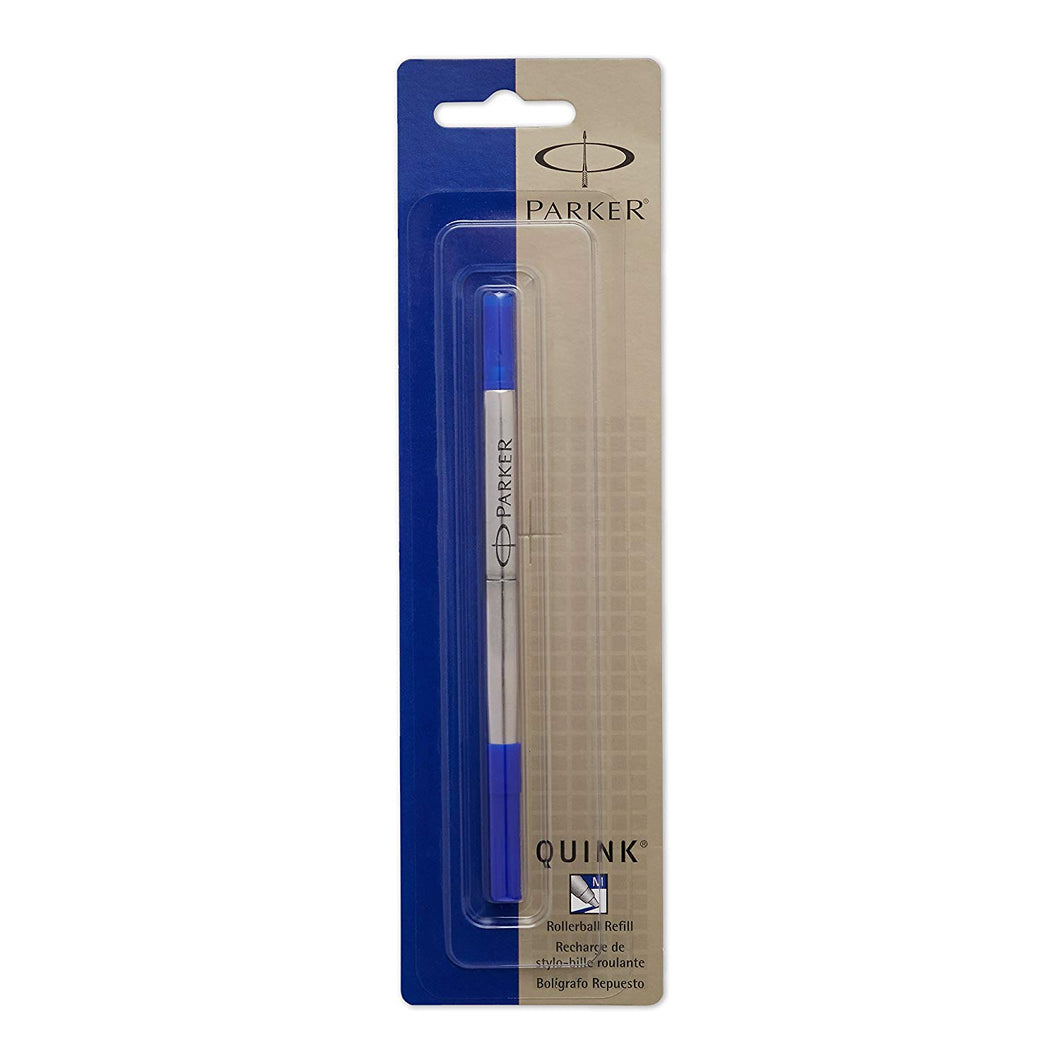 Parker Quink Refill for Rollerball Pens Fine Point Blue