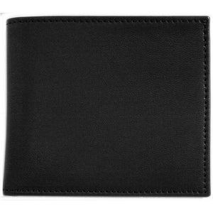 Italian Lambskin Nappa Leather ID Wallet Floto Firenze black