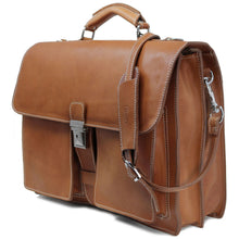 Load image into Gallery viewer, Floto Italian Leather Briefcase Parma Edition Attache Messenger Bag men's 2