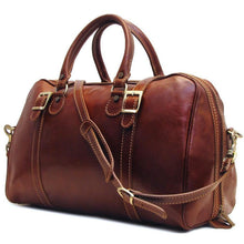 Load image into Gallery viewer, Floto Italian Leather Trastevere Duffle Bag Carryon