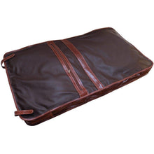 Load image into Gallery viewer, leather garment bag floto venezia brown