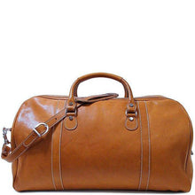 Load image into Gallery viewer, Floto Italian Parma Leather Duffle Bag Weekender luggage