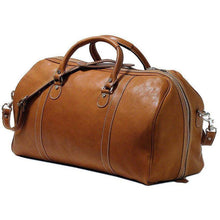 Load image into Gallery viewer, Floto Parma Italian Leather Duffle Travel Bag Carryon Suitcase Luggage