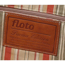 Load image into Gallery viewer, Floto Parma Italian Leather Duffle Travel Bag Carryon Suitcase Luggage - Logo