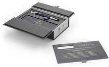 Load image into Gallery viewer, PARKER Duofold Ballpoint Pen Classic Blue & Black