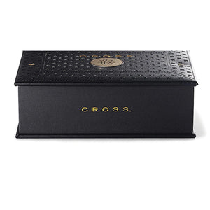 Cross Sauvage Special Edition Year of the Monkey Brushed Platinum & 23KT Gold Rollerball Pen Special Gift Box