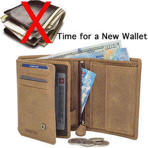 It's time for a new DiLoro leather wallet with RFID protection technology. Order your wallet today from DiLoro.com