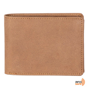 DiLoro Men's Leather Wallet Large Horizontal