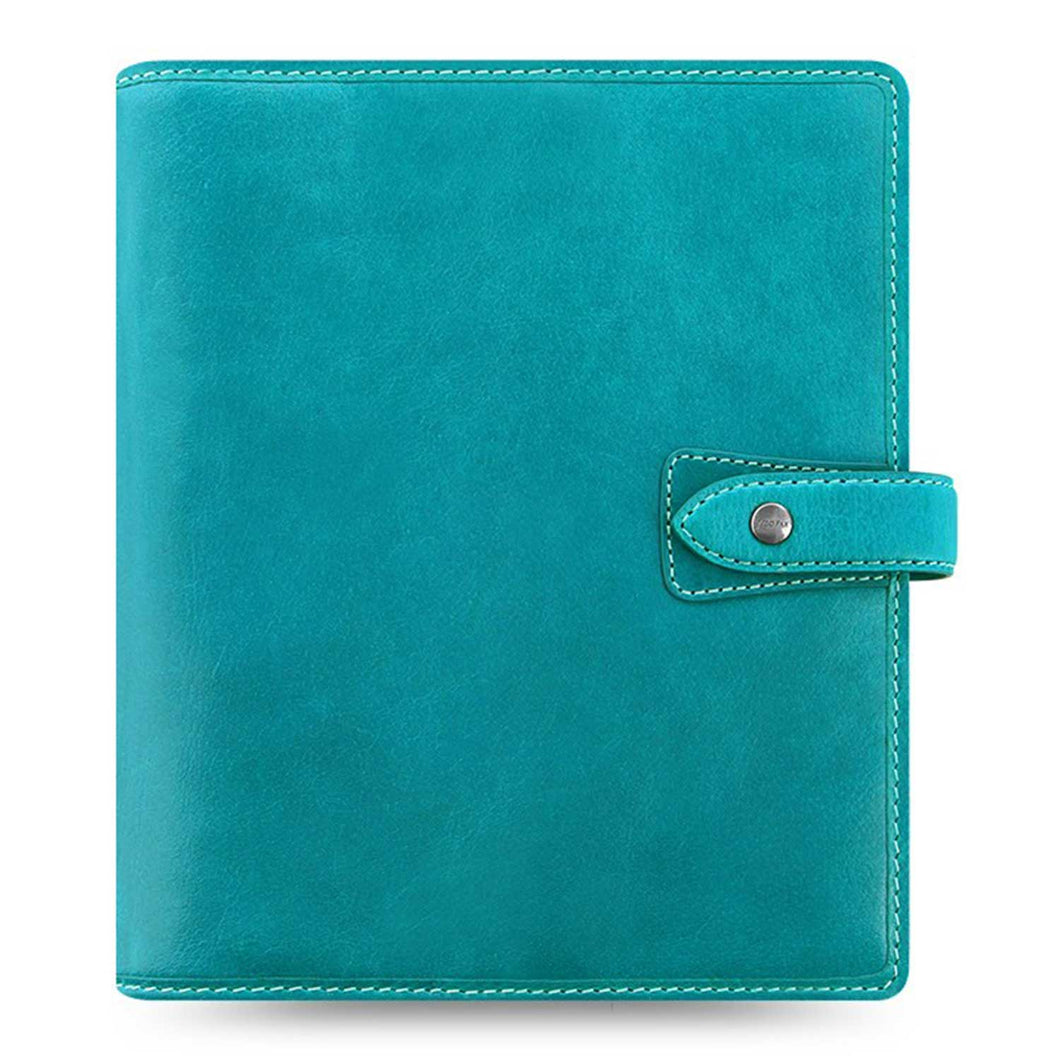 Filofax Malden A5 Kingfisher Leather Organizer Agenda 2020 Diary