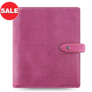 ON SALE - Filofax Malden A5 Fuchsia Leather Organizer Agenda 2020 Diary