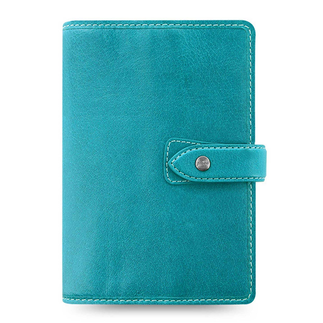 Filofax Malden Personal Kingfisher Leather Organizer Calendars 2020